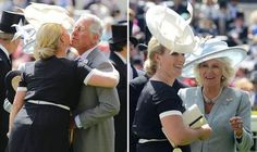 Hugs and kisses! Zara Phillips was the royal favourite at this year's Ascot