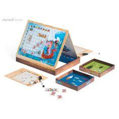 Tolles ausgefallenes Spielzeug von Janod | Magnetspiel Schiffe versenken!