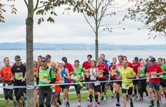WHOA. Want to run through THREE countries in one marathon? The Sparkasse Marathon der 3 Lander can help you do just that by running through Germany, Austria and Switzerland. (Lindau Island, Germany)
