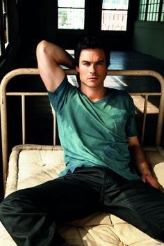 Ian Somerhalder. I can NOT get enough of this man!!!