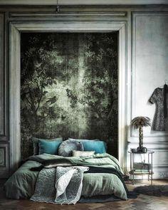 Slaapkamer met badkamer ensuite | slaapkamer | Pinterest | Mood ...