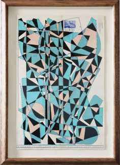 "Saatchi Art Artist Hormazd Narielwalla; Collage, ""Midnight in Paris"" #art"
