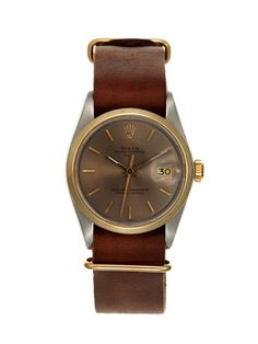 Vintage Watches Rolex Oyster Perpetual Date Watch (c. 1977)