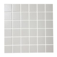 """American Olean 12"""" x 12"""" Satinglo White Glazed Porcelain Wall Tile - Lowe's Canada"""