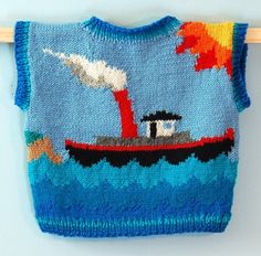 One Year Lighthouse Sweater Vest $50