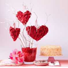Make your Valentine's Day table full of heart.