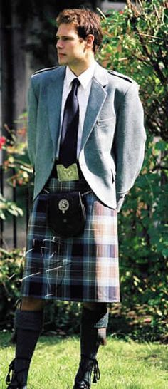 my kilt and it... right length, wrong clan :/