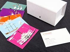 Sean Adams' Luxe biz cards: Joy, delight … sad places « Felt & Wire