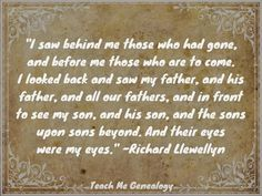 Teach Me Genealogy: Quotes Family Tree Quotes, Family History Quotes, Family Trees, Genealogy Quotes, Family Genealogy, Genealogy Websites, Genealogy Chart, Heritage Quotes, Pedigree Chart