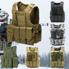 3 Sand Humorous Aa Shield Molle Hunting Plates Carrier Mbav Style Military Tactical Vest Security & Protection Safety Clothing