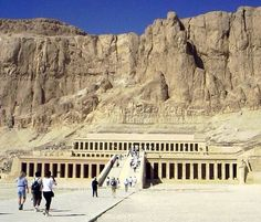Hatschepsut's temple near Luxor, Egypt