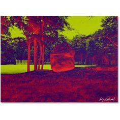 Trademark Fine Art Enchanted Rock II Canvas Art by Miguel Paredes, Size: 18 x 24, Multicolor