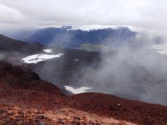 Vulkanbesteigung