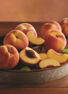 Sweet Oregold Peaches from Southern Oregon.