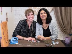 Artbeads Cafe - Knotting with the Knot-a-Bead Tool with Candie Cooper and Cynthia Kimura - YouTube Wire Wrapped Jewelry, Wire Jewelry, Jewelry Art, Beading Tools, Jewelry Making Tutorials, Leather Necklace, Diy Earrings, Knots, Beads