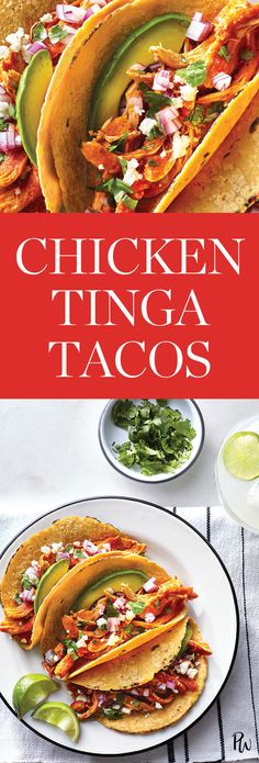 Thanks to rotisserie chicken and a quick blender sauce made with punchy chipotle peppers in adobo, this weeknight dinner is ready in 30 minutes. Healthy Eating Recipes, Mexican Food Recipes, Dinner Recipes, Mexican Dishes, Slow Cooker Recipes, Cooking Recipes, Easy Cooking, Cooking Food, Eating Light