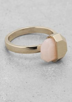 Stone Ring ($29): Even with only half of the stone showing, this ring is will instantly become your favorite.