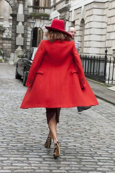 30 Inspiring Ways to Turn Up the Brights // The chicest Carmen San Diego we've ever seen