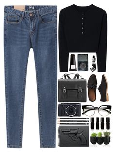 """""""We are the reckless"""" by annaclaraalvez ❤ liked on Polyvore featuring The Cambridge Satchel Company, Gap, Fujifilm, ZeroUV, Eight & Bob, Revolver, Aesop, The New Black and Authentics"""
