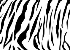 cool stencils to cut out | Step 1: We're going to copy the tiger stripes from the stock image to ...