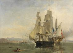 Capture of the El Gamo, the historical event upon which the capture of the Cacafuego is based