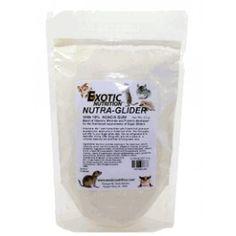 NUTRA-GLIDER  NUTRA GLIDER consiste in un nettare su misura per petauri dello zucchero sviluppato da EXOTIC NUTRITION, arricchito con vitamine, minerali e proteine. Sotto forma di polvere, che contiene per il 10% pura gomma di acacia, di cui i petauri selvatici si nutrono di natura.  http://www.todopetauros.com/it/home/129-nutra-glider.html