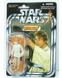 Star Wars 3.75  inch Vintage Figure Luke Skywalker by Star Wars. $33.47. Figure comes with weapon accessories.. Iconic Star Wars heroes and villains are captured with incredible detail and premium features to commemorate each epic tale in the Star Wars saga. Based on the character from the classic The Empire Strikes Back film, this articulated action figure and his lightsaber accessory come in a reproduction of the same packaging the original figure was released in...