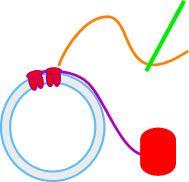 Tatting Wrap-stitch Round a Plastic Ring With Needle  http://tatsaway.blogspot.com/2009/09/wrap-stitch-round-plastic-ring-with.html#comments