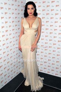 10 Best Dita Von Teese Red Mermaid Celebrity prom Dresses Heart ... de3d028102f4