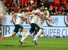صور من إحتفال الأبطال بكأس السوبر المصري!