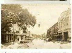 Main Street -- Bartow -- circa 1940