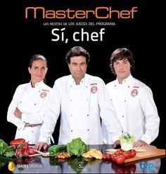 Primer libro de Masterchef con los tres conductores del programa: Samantha España, Pepe Rodríguez y Jordi Cruz. Photo Portrait, Food Decoration, Tapas, New Books, Make It Simple, Yummy Food, Cooking, Master Chef, Chefs