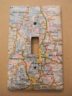 Map light switch