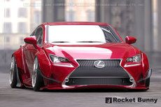Rocket Bunny V1 Aero - Lexus RC350 F-Sport Front Lip (only)