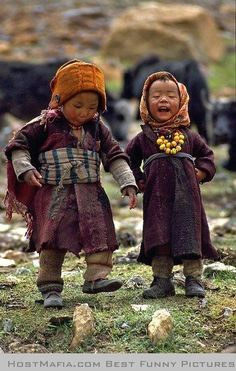 Children of the Himalayas.