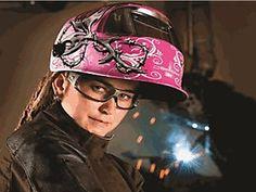 World-first women's welding helmet ~ Arctec Training Centre