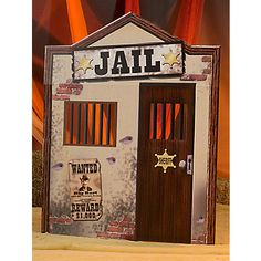 Looking for Old West Jail Party Supplies? Old West Jail? We can connect you with old west jail standee, western jail prop, jail standee, jail prop, cardboard jail Wild West Theme, Wild West Party, Cowboy Birthday Party, Cowgirl Party, Cowboy Theme, Western Theme, Cowboy Games, Cowboy Western, Party Props