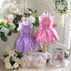Blooming  Rose  Designer Handmade Dress for Pets / by JunyBell, $145.00