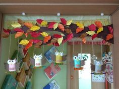Halloween Crafts For Toddlers, Crafts For Seniors, Toddler Crafts, Diy For Kids, Crafts For Kids, Owl Classroom Decor, Fall Classroom Decorations, School Decorations, Fall Crafts