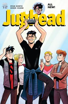 """(W) Ryan North (A/CA) Derek Charm It's Jughead versus all of Riverdale in a race to the finish! A """"video game go-kart race to the finish,"""" that is. Archie Comics Characters, Archie Comics Riverdale, Betty & Veronica, Cole Sprouse Jughead, Riverdale Betty, Movie Lines, Cute Gay, New People, Best Shows Ever"""