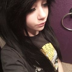 Pin By Trouble On Me Pinterest Emo Emo Scene And Scene Hair - Emo girl hairstyle video