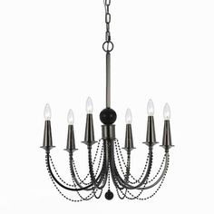 Home Decor Surplus AF Lighting Shelby 6 Light Chandelier