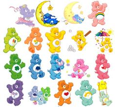 Tag your friends on Care Bears cartoon taggable pictures | Tucknoloji