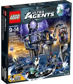 Sealed LEGO 70172 Agents AntiMatter's Portal Hideout Toys R Us Exclusive Set! for sale online Lego Batman, Lego Marvel, Spiderman, Portal, Lego Minecraft, Lego Lego, Buy Lego, Lego Pieces, Pranks