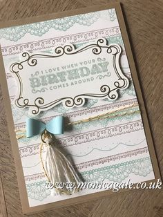 STAMPIN'UP! UK- Top UK Demonstrator Monica Gale-01405 862902-DN14 9QZ: Free stamps are the best kind of stamps