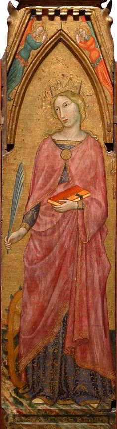 St. Catherine of Alexandria by Francesco d'Antonio di Ancona,,1393