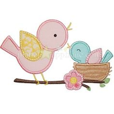 Lil Birds Applique - Planet Applique Inc Purchased Jan 08, 2016