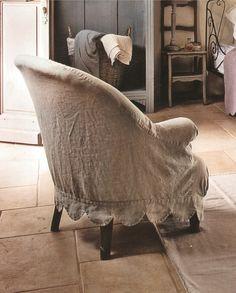 1000 ideas about housse pour fauteuil on pinterest - Fabriquer une housse de canape ...