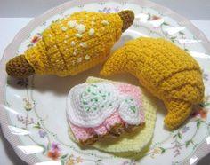 Croissant Crochet Pattern Food Crochet Pattern PDF by melbangel, $4.50
