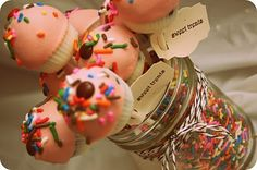 Cup cake -cake pops